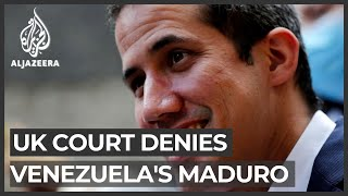 UK court denies Venezuela's Maduro access to gold in bank vault