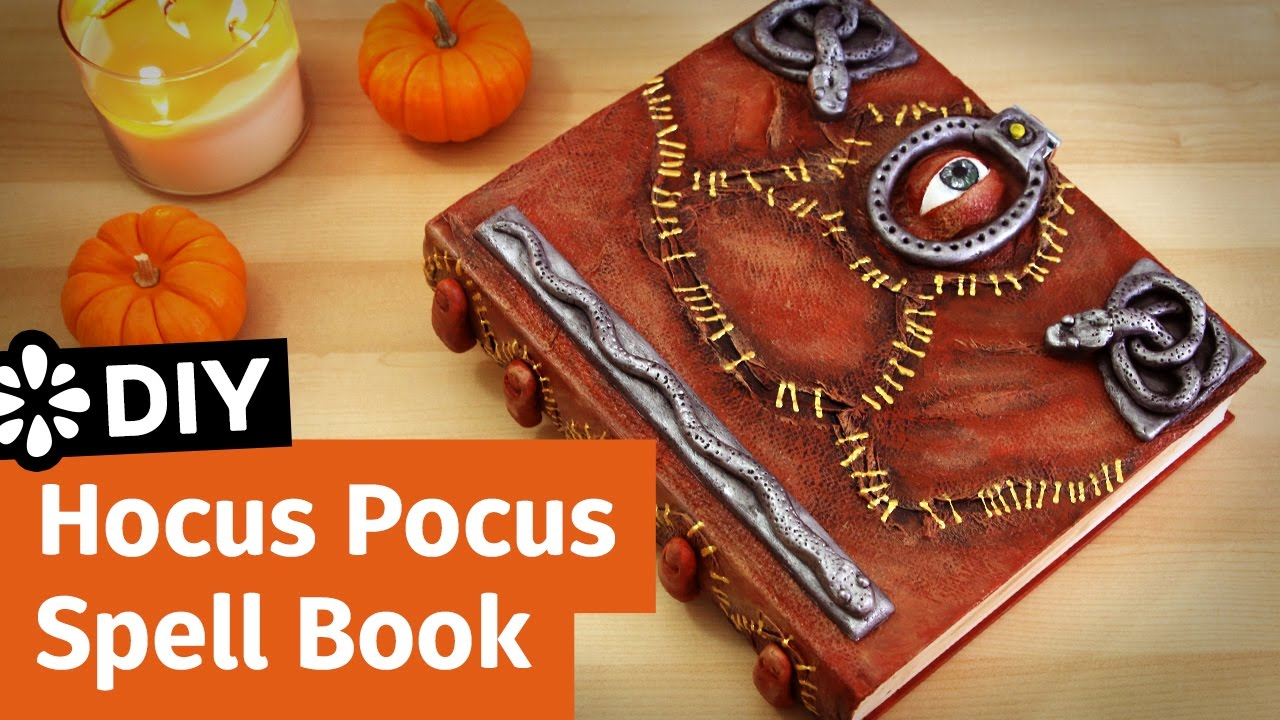 Diy Disney Hocus Pocus Spell Book Halloween Collab Sea Lemon