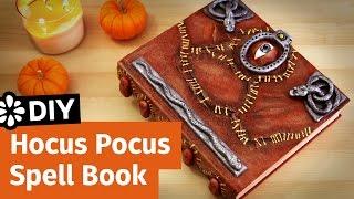 DIY Disney Hocus Pocus Spell Book   Halloween Collab   Sea Lemon