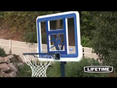 Lifetime 44 In. Portable Pool Basketball Hoop 1306 - KitSuperStore.com