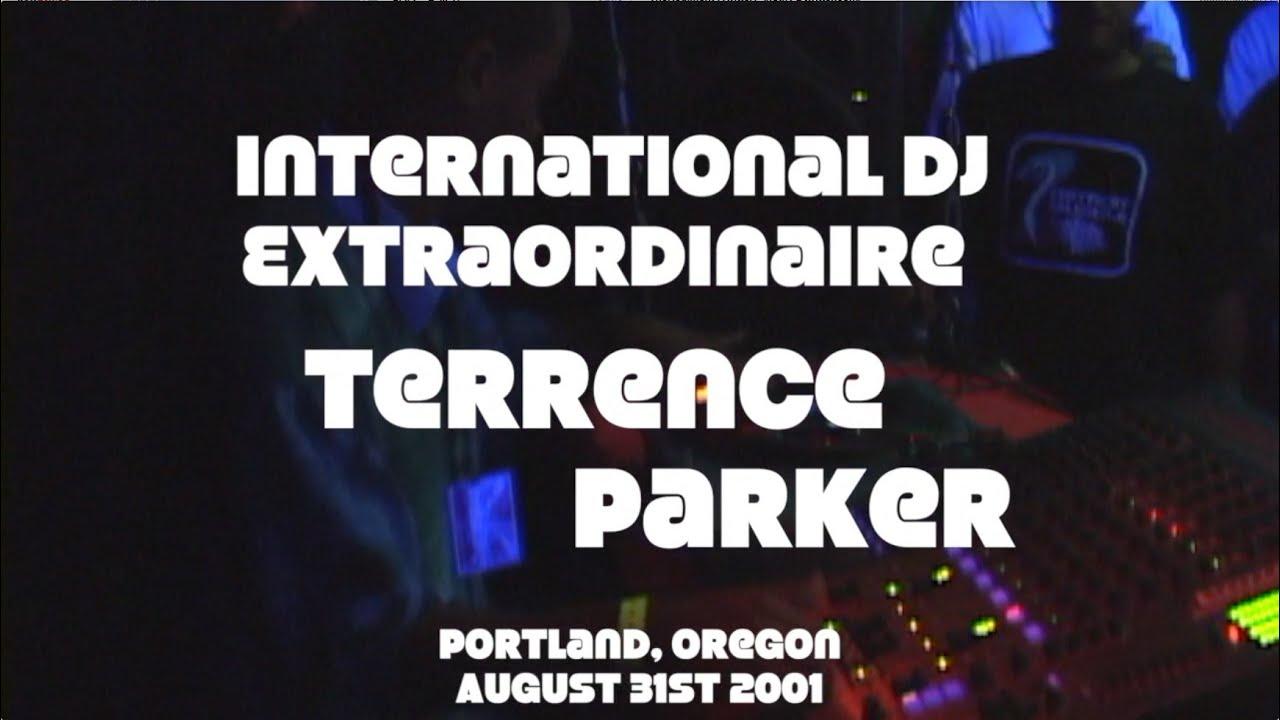 Terrence parker the international dj extrordinaire all for Detroit house music