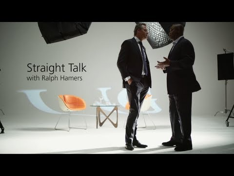 Straight Talk with Ralph Hamers, CEO ING Group