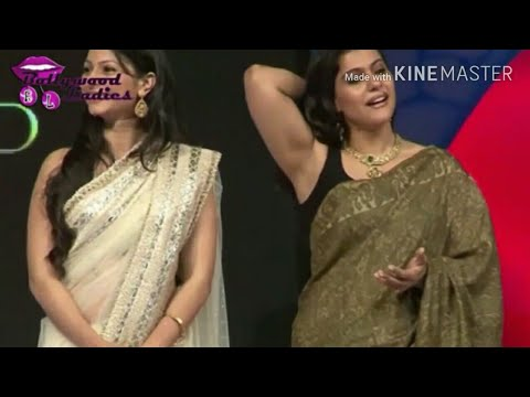 Bhabhi showing lickable armpits on stage