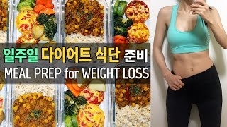Meal Prep for Weight Loss, Vegetarian Recipes, Laella Meal Prep