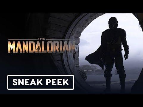 The Mandalorian Official Sneak Peek (2019) Pedro Pascal