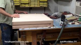 826. Edge Sanding Tops And Bottoms  • Table Saw Work Station Series