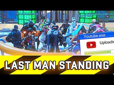 Last Man Standing Fortnite Wins 10,000 V-Bucks but it gets bad