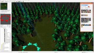 Warcraft 3 RPG создаём (Создали квестик[маленький] , и декорируем 2 локацию )