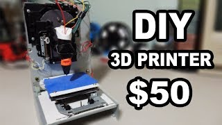 Building a 3d Printer From Cd Drives(In this video I build TinkerNut's simple 3d printer for under $50 using a 3d printing pen, Cd-Rom drives, an Arduino, and stepper motor drivers. Tinkernut's 3d ..., 2016-12-16T03:41:14.000Z)