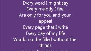 Kenny Lattimore- For you w/Lyrics