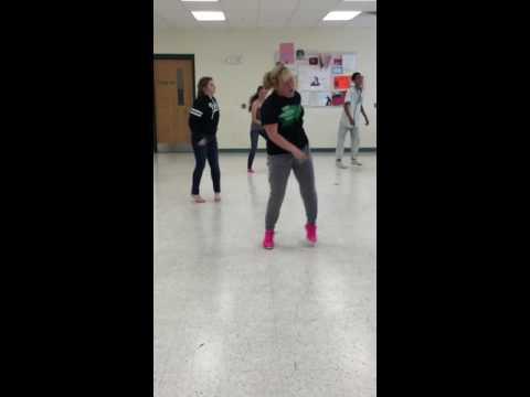 Pep rally dance