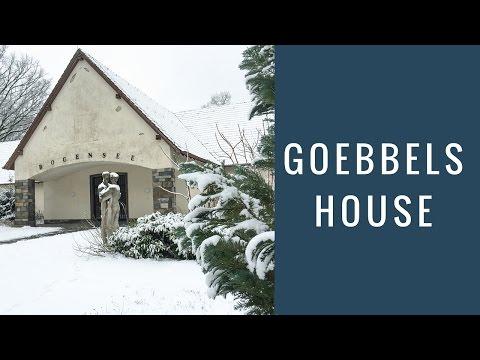 Joseph Goebbels WW2 House & Bunker Today