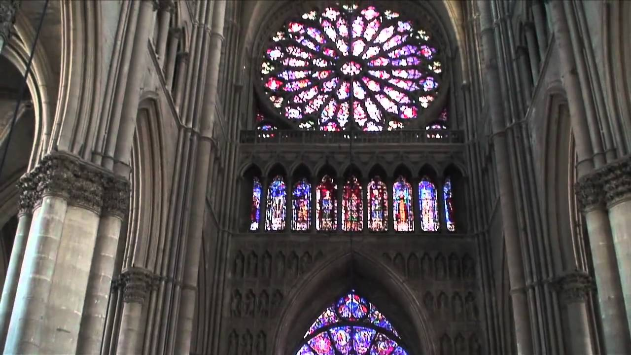 Inside Reims Cathedral (Cathédrale Notre Dame De Reims), Reims,  Champagne Ardenne, NE France   YouTube