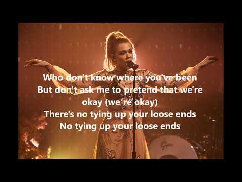 Rachel Platten - Loose Ends (Lyrics Video)