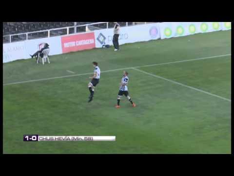 Resumen del encuentro FC Cartagena - Villanovense (2-0)