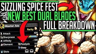 New Double Status Ale Dual Blades + New Giant Tigrex - Spice Fest - Monster Hunter World Iceborne!