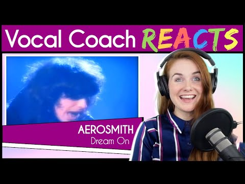 Vocal Coach Reacts To Aerosmith Dream On (Steven Tyler Live)