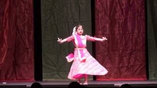 Pankh Hote to Ud Aati by Avantika under Sub-junior Film Solo at FIA Republic Day Dance Competitions