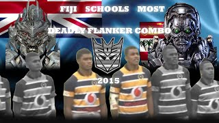Most Deadly Flanker Combo Highlights || Fiji High School Rugby 2015
