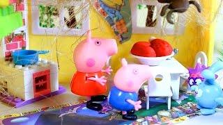 Свинка Пеппа. Peppa Pig. Пеппа и Джордж в гостях у Бабы Яги. Мультфильм для детей