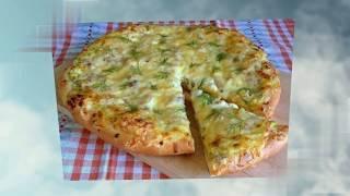 Готовим Деревенскую  пиццу. Вкусный рецепт. Приготовь себе Сам. Пробуем и наслаждаемся