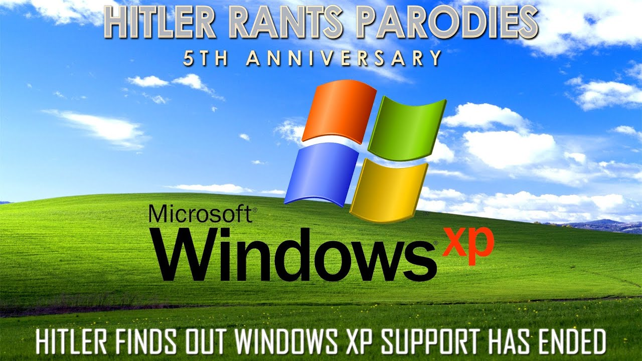 Hitler finds out Windows XP support has ended