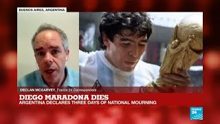 'Ciao Diego': Grief, shock and tributes as world mourns Maradona