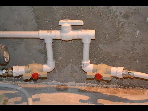 Водяной теплый пол водяной в ванной своими руками видео