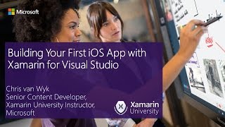 Building Your First iOS App with Xamarin for Visual Studio