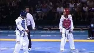 陳詩欣vs古巴:2004年雅典奧運跆拳道比賽實況