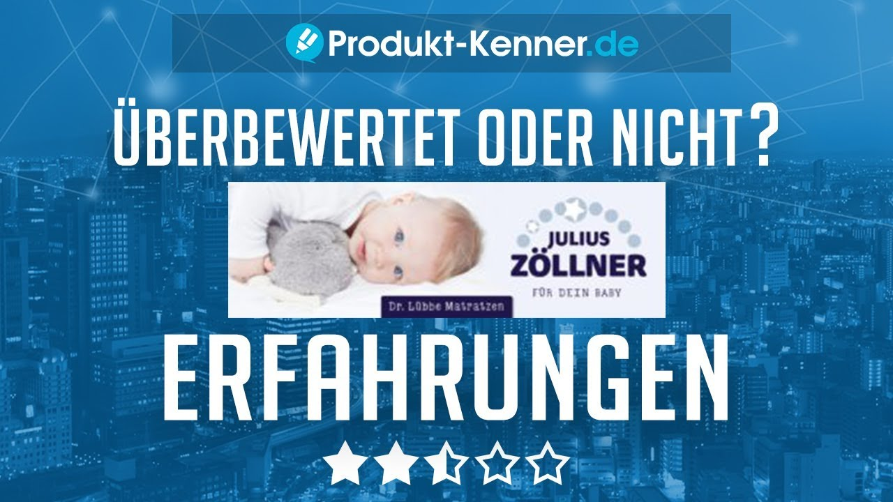 Dr Lübbe Air Premium Erfahrungen Julius Zöllner Babymatratze Test