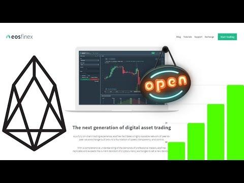 EOSfinex Exchange Launches - Bitfinex On EOSio
