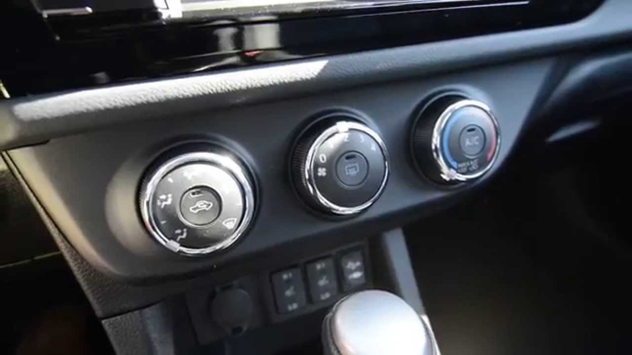 2011 Corolla Fuse Box 2015 Corolla S Air Conditioning Heated Seats Controls