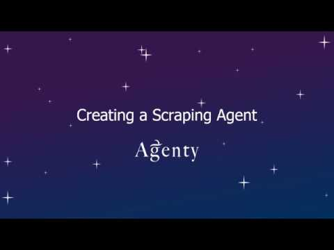 Creating a Scraping Agent - Agenty