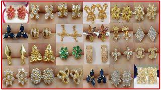 22 Ayar Altın Küpe Modelleri ve Fiyatları  Latest Gold Earrings and Ear Studs Designs With Weigh