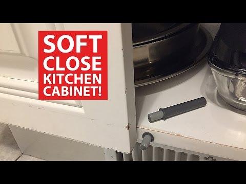 Soft Close KITCHEN CABINET DOORS (DIY Retrofit)