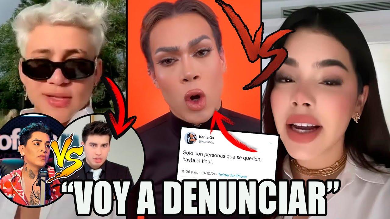 ¡Se Pelean! Rod Contreras Y KENIA OS Contra De Aniglam Y METE DENUNCIA/ Kunno SE PELEA CON LA DIVAZA