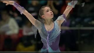 Камила Валиева Kamila Valieva чемпионка мира среди юниоров 2020 Произвольная программа FS