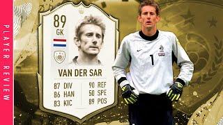 FIFA 20 Icon Swaps Van Der Sar Review   89 Mid Icon Edwin Van Der Sar Player Review FIFA 20