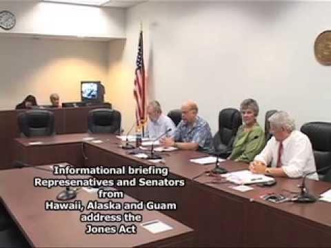 Hawaii, Alaska, and Puerto Rico lawmakers discuss the Jones Act