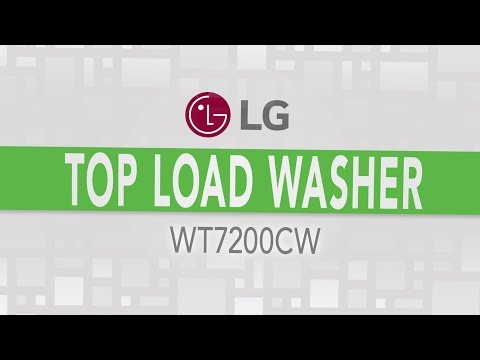 LG Mega Capacity Top Load Washer - WT7200CW