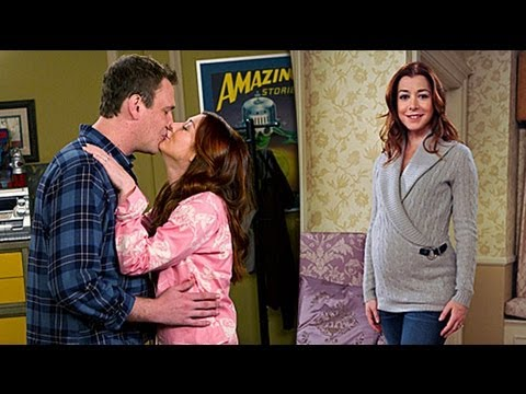 Himym Star Alyson Hannigan Lily Teases How Met Your Mother Season Baby Episode