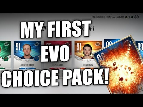 EVO CHOICE PACK! - NHL 18 HUT Champs Rewards