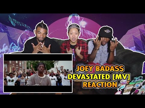Joey Bada - Devastated Hip Hop Music Video Reaction Commentary NY BRONX