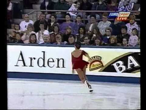 Michelle Kwan 1996 Worlds SP - Romanza Eurosport