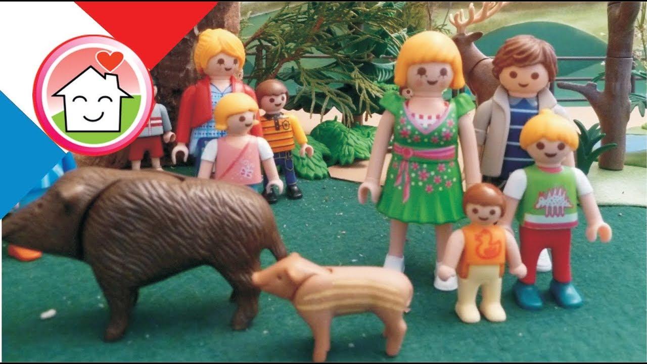 Favori Film Playmobil Les enfants de la garderie ont visité le zoo  YP67