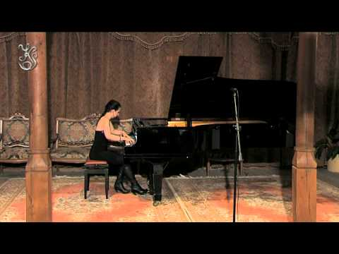 Erik Satie - 3 Gymnopedies performed live by Tania Stavreva