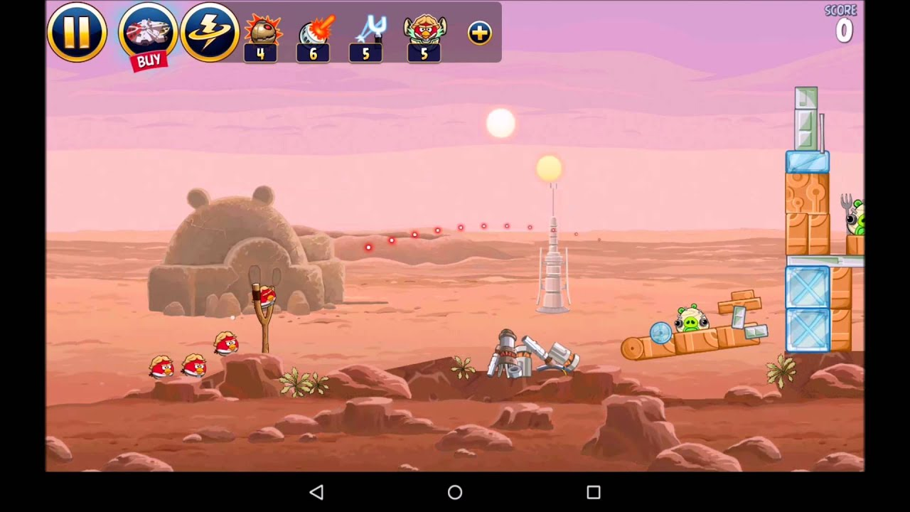 Angry Birds Epic видеообзор игры на Android - YouTube