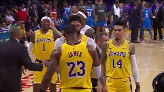 Los Angeles Lakers vs. Oklahoma City Thunder | November 19, 2019