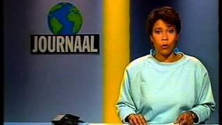 880518 - Ned. 2: einde NOS journaal + closedown (18 mei 1988)